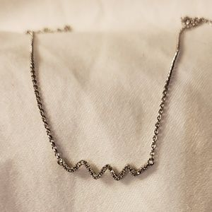 Jewelry - Diamond Wavy Necklace